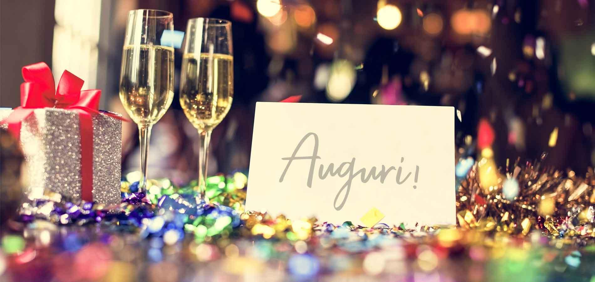 Biglietto di auguri a una festa aziendale